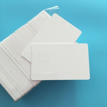 20PCS  Waterproof  ISO RFID Card S50 Chip Blank Inkjet Plastic PVC Card With 13.56mhz HF 100pcs blank printable pvc plastic card without chip two sides cover film suit for make member card company card credit card
