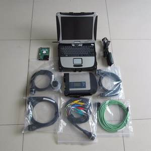 Software Sd Connect Cf19 Laptop Diagnose Toughbook Mb Star C4-Tool with Ready-To-Use