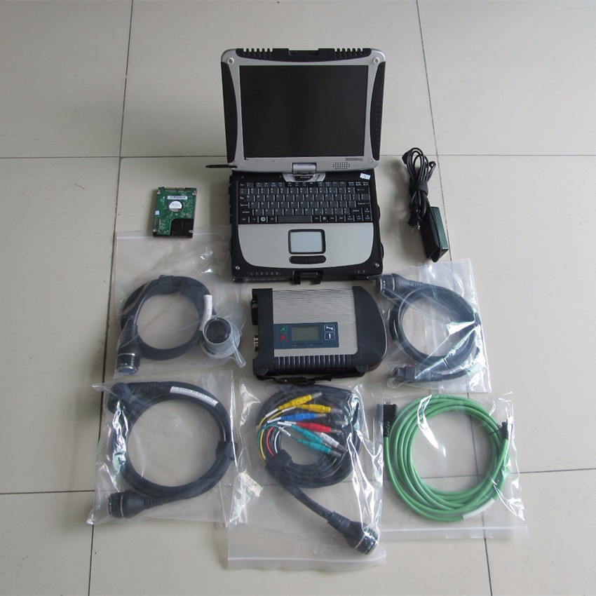 mb star c4 sd connect with 2019 05 software with cf19 laptop toughbook mb star c4