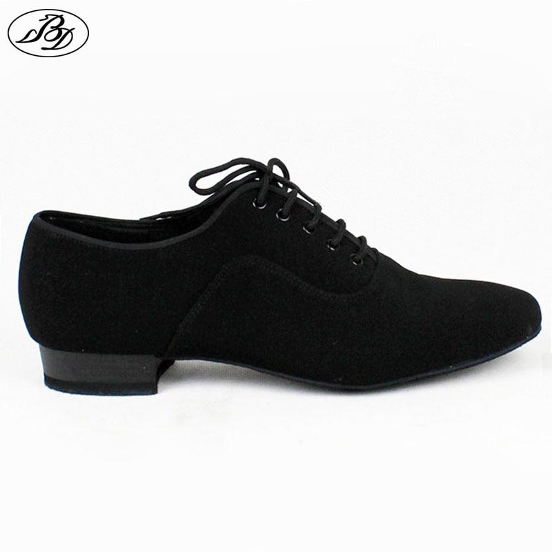 Uomini Standard BD 301 Danza ShoesD 301 Nappata Suola Tela di Canapa Degli Uomini Sala Da Ballo Scarpa Dancesport Professionale Scarpe Da Ballo Tutta La Suola