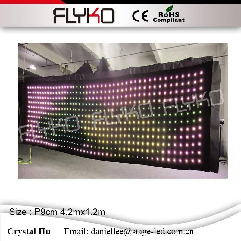LED video curtain589