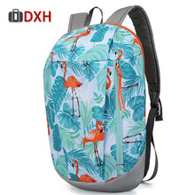 2019 Men Women Ultralight Travel Backpack Girl Boy Children Waterproof Camping Hiking Sports Rucksack Outdoor Small Bag 10L DXH(China)
