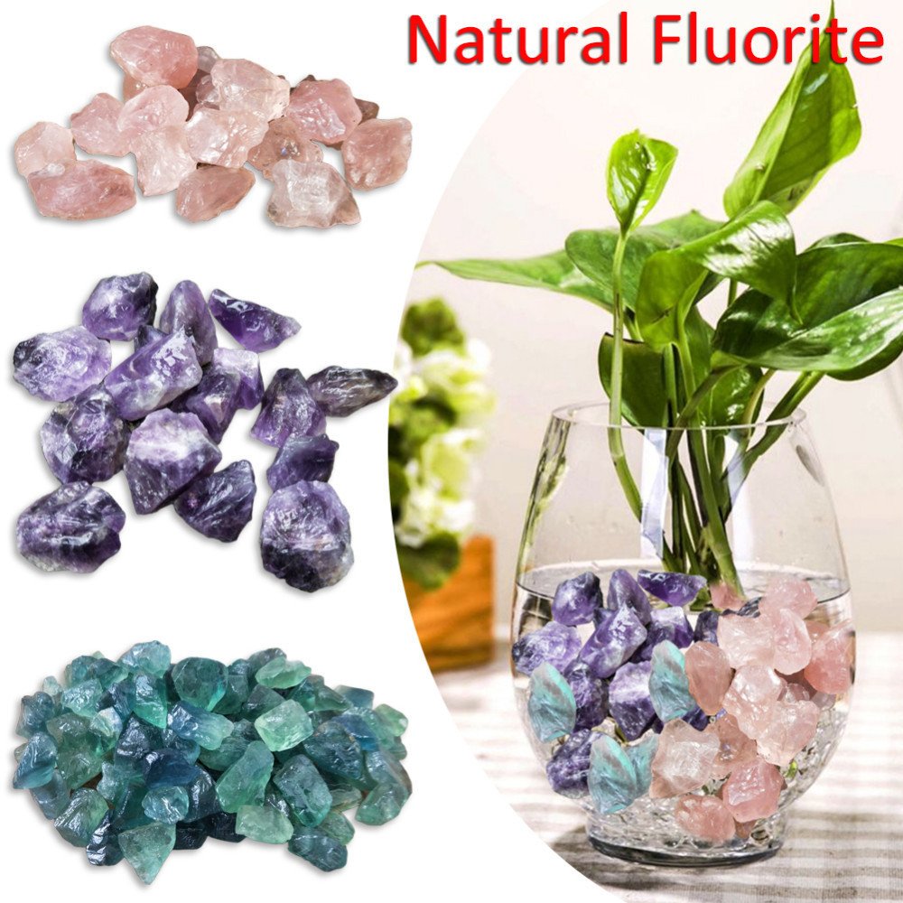 1pcs Natural Pink Fluorite Crystal Raw Gemstone Raw Ore Specimen Crystal Quartz Stone Pointed Healing Wand 3 Color Size 2 -2.5cm
