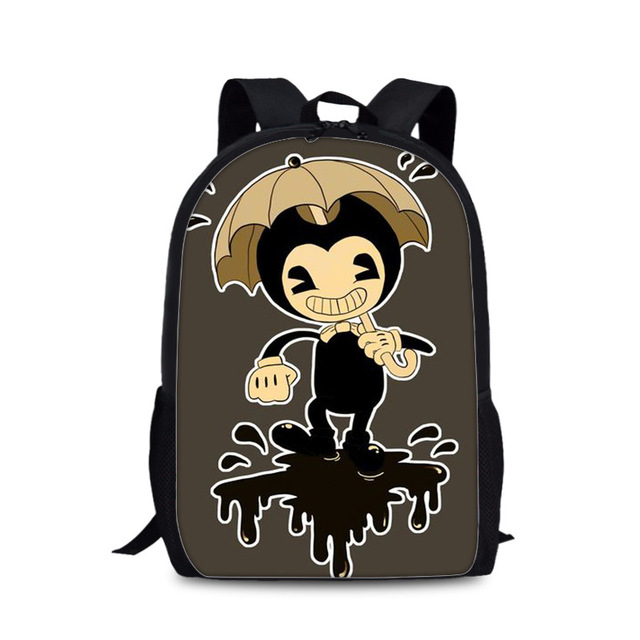 School Bag Bendy Cartoon Backpack Travel Breathable Adjustable Small Boys Girls