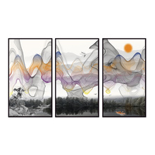 Factory wholesale (No Framed) Modern abstract landscape Canvas Print On Printing Wall Pictures 12YM-A-570