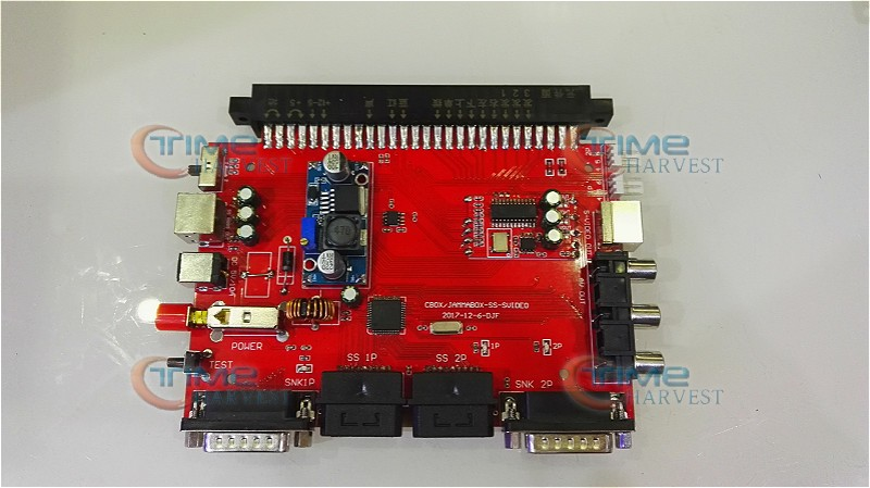New 5V JAMMA CBOX Converter Board TO SNK DB15 Joypad SS Gamepad With Saturn Video Output For Pandora JAMMA PCB IGS Motherboard snk p0050ap4