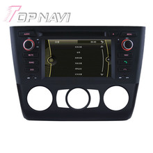 Wince Car Radio Stereo For BMW E81 1 Series (2004 Onwards) Door Hatchback manual air-conditioner+heated seat Car DVD Player