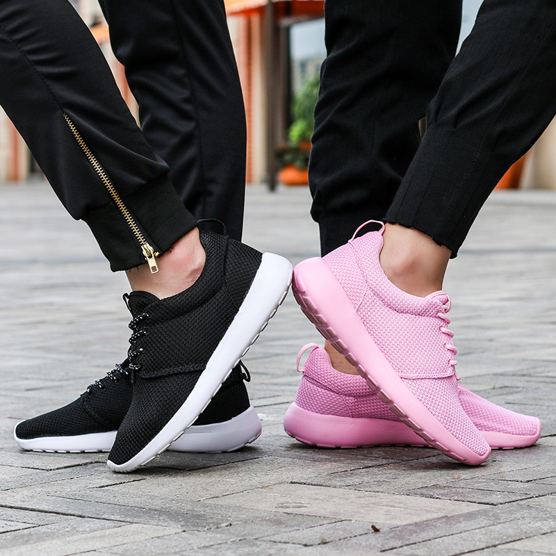 CASMAG Classic Men and Women Sneakers Outdoor Walking Lace up Breathable Mesh Super Light Jogging Sports Running Shoes 27