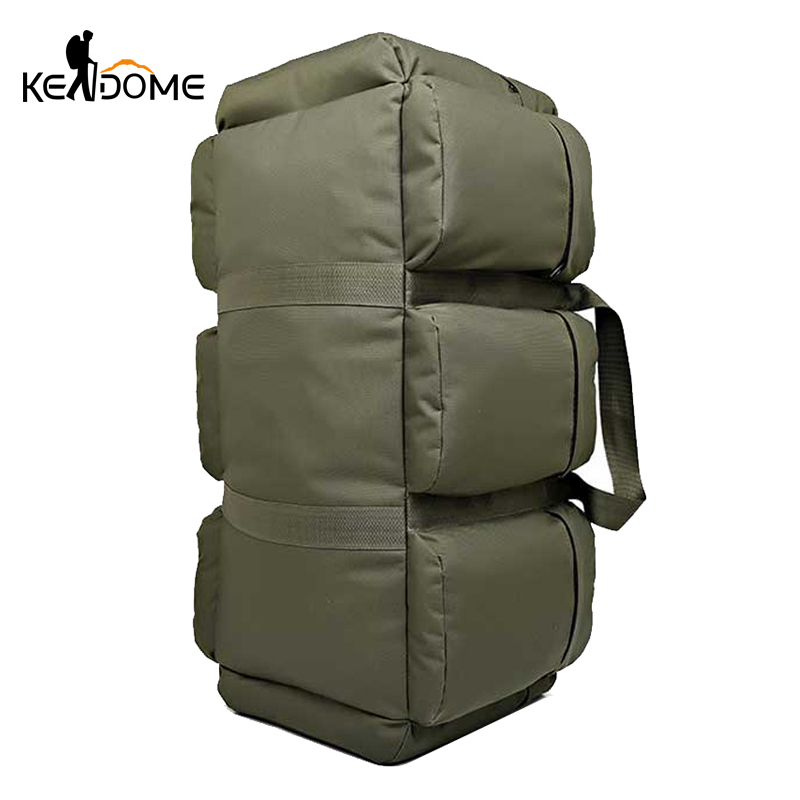 90L 3D Nylon militaire sac à dos tactique de plein air Sport sac à main escalade randonnée sac à dos alpinisme Camping voyage Tas XA4D