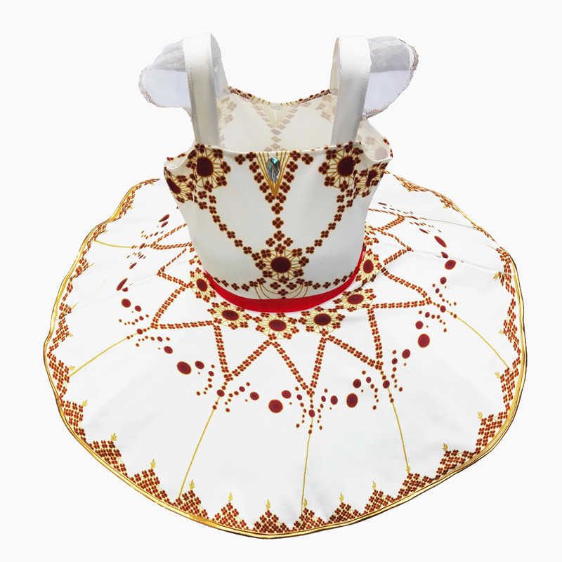 Yeni çocuk balerin Tutu elbise askısı gözleme tutuş çocuk klasik dans elbise kız cadılar bayramı parti performans kostüm