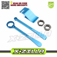 Bead Holder Buddy Tyre Iron Set Changing Tool Kit Raceline Grilled Tire Lever Hex Wrench Spanner