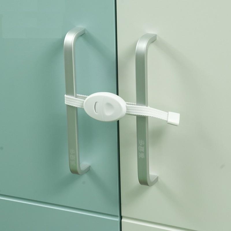 1 Pcs Plastic Child Lock Children Protection Baby Safety Infant Security Window Lock Door Interlocks Cabinet Door Lock For Child