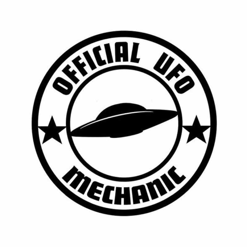 detail feedback questions about 18cm 18cm car styling personality C5 Drag Car 18cm 18cm car styling personality official ufo mechanic funny car stickers c5 1096