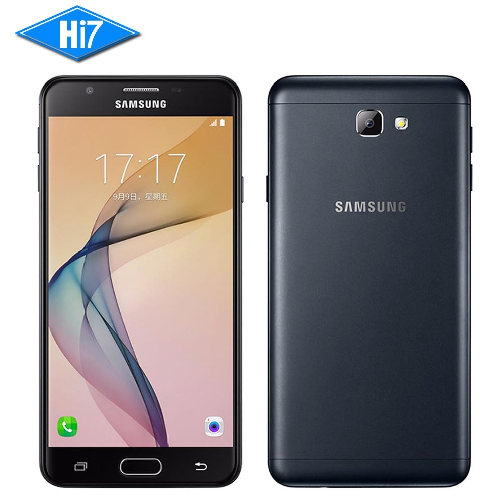 """bilder für Neue original samsung galaxy on7 (2016) G6100 5,5 """"3300 mAh 3 GB RAM 32 GB ROM 13MP octa-core 4G LTE Fingerabdruck Smartphone"""