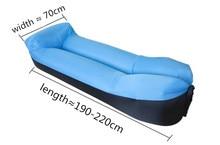 Inflatable Sofa Portable outdoor beach air sofa bed Sleeping bag bed Oxford cloth 240*70cm