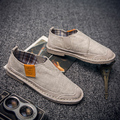 2016 Summer New Cotton And Linen Men Canvas Shoes Fashion Casual Hemp Slip-on Loafers Men's Flats Shoes Low Breathable Men Shoe