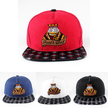 2016 Unisex Snapback Classical Fashion Women Baseball Cap Men Snapback Hat Embroidery The King of Clubs Snapback