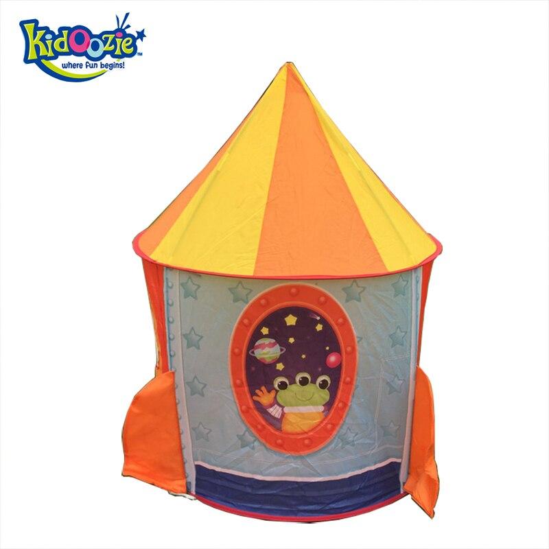 2018 Top vente extérieur et intérieur Playhouse tente Rocketship espace enfants jouent tente et jeu sûr pour enfants tente pour enfants