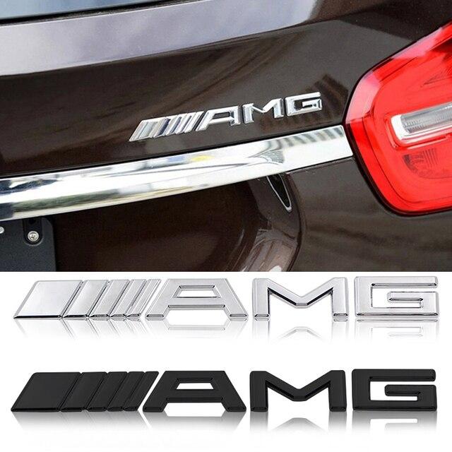 1 шт 3D Chrome багажнике автомобиля багажника гоночный значок подписать аппликацию из металла эмблема, наклека на машину украшение автомобиля для Mercedes Benz AMG CLA