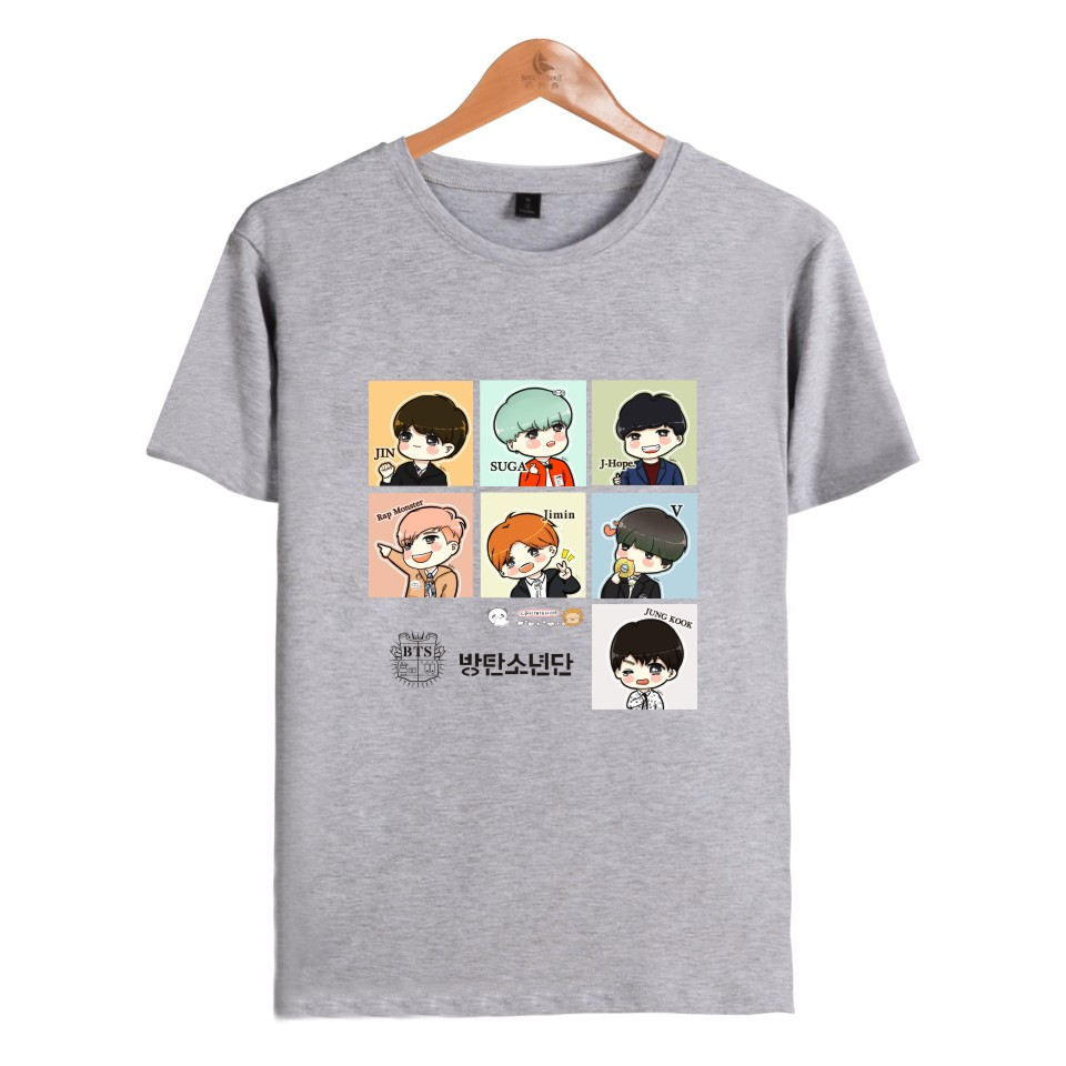 Bts Collage T Shirt 4 Types