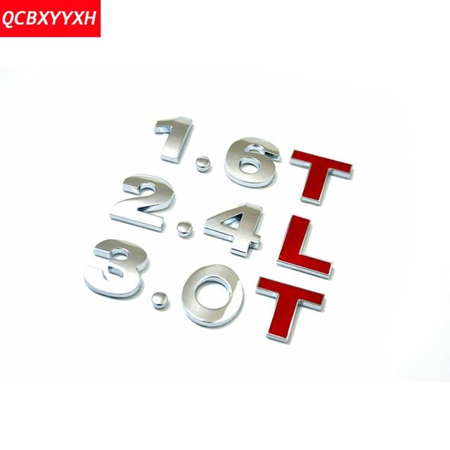 Aliexpress Buy 3d Abs Car Diy Alphabet Letter Number Symbol