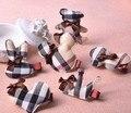 Высококачественные детские Аксессуары Для Волос Классический Клетчатый разнообразие Мультфильмов Изображений Шпильки Головной Убор