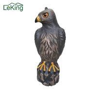 Decoration Polyethylene Tools Lifelike Eagle Hunting Simulated Bait Bird Frightening Tools For Family Farms Agriculture Use