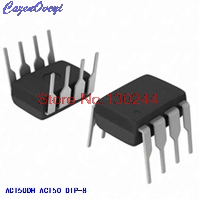 10pcs/lot ACT50DH ACT50 DIP-8 In Stock