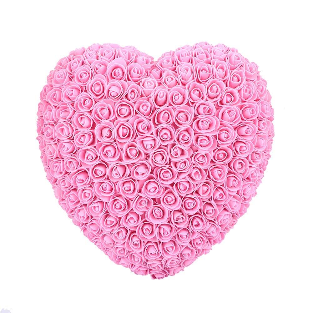 Украшения для свадебной вечеринки розовое большое сердце девушка юбилей пена Свадебный декор День Святого Валентина подарок на день рождения для ребенка - Цвет: Pink