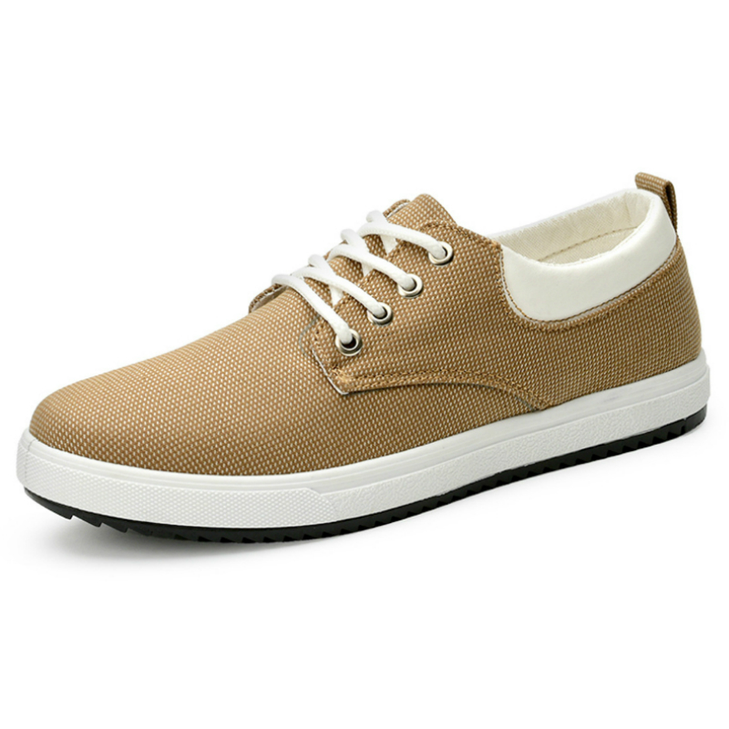 mocassin toile homme
