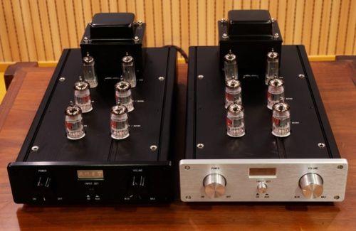 HiFi 12AX7 12AU7 Vacuum Tube Preamplifier Pre-Amp Shigeru Wada Japan Circuit music hall new 6h3n vacuum tube preamplifier hifi buffer pre amp matisse circuit