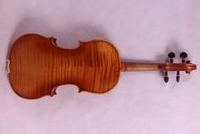 4/4 violine Europäischen holz Ahorn Master Ebene, Kraftvollen Sound bestnote Neue #1600