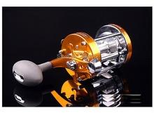 1pc size90 Long casting fishing reel Trolling fishing reel trolling reel Right handle/Left handle Free shipping