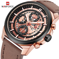 Fashion Analog Quartz Watch NAVIFORCE Casual Men's Sports Watches 30 Waterproof Man Clock Relogio Masculino Military Wrist Watch