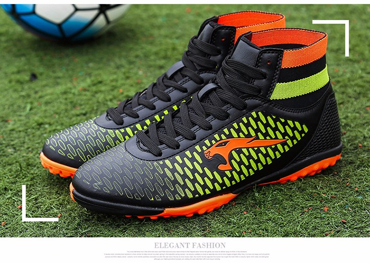 2017 High Ankle Superfly Boys Kids Football Boots Cheap Indoor Soccer Shoes Cleats Girls Sneakers 6High Quality voetbalschoenen