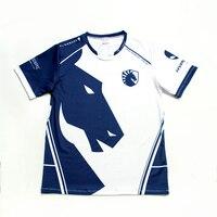 Top quality 1:1 Esports Team Liquid Custom ID Tshirt Fans T shirt Men Women N neck Short Sleeve T shirts Custom Tee Shirt Homme