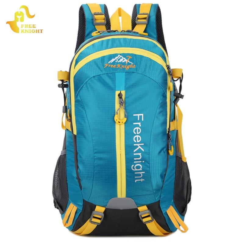 FREEKNIGHT 40L sac de sport en plein air voyage sac à dos Molle étanche escalade Camping sac alpinisme randonnée sacs à dos unisexe