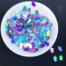 1Pack Glitter Slice Slime Filler DIY Clear Slime Supplies Glue Mud Crystal Slime Decoration Play Dough Tools Accessories(China)