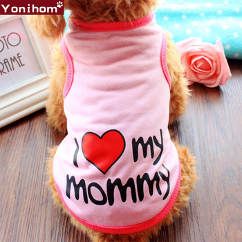 Dogs Pets Clothing Summer Vest Dog Clothes for Small Dogs Girl Boy Lovely Summer Cute Small Dog Clothes Chihuahua Yorkies Outfit image