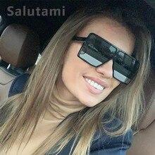 Black One Piece Sunglasses For Women Oversize Shield Eyewear