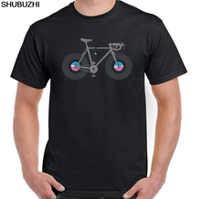 Killer vinyl records as bicycle wheels T-Shirt
