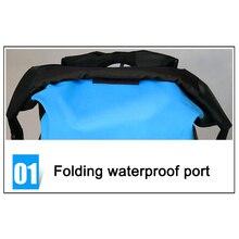 Горячий водонепроницаемый рюкзак с мягким рукавом для ноутбука для путешествий Велоспорт Кемпинг Туризм рафтинг DO2