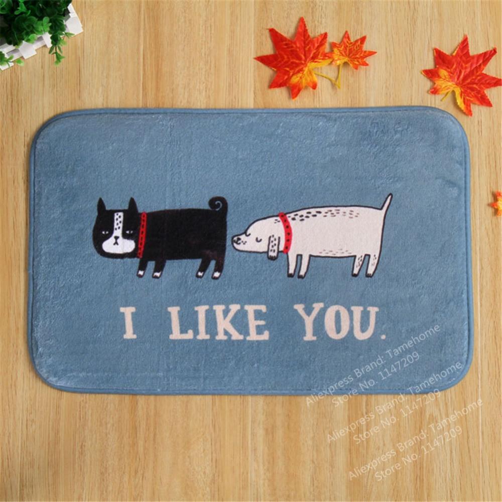 Amazing NiceRug Animal Mat Carpet Dog Rug Animal Rug Reindeer Rug Christmas Gift  Animal Printed Carpet Non