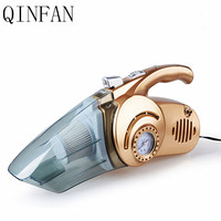 QINFAN 4 In 1 Car Vacuum Cleaner Air Pump Vehicle Vacuum Cleaner Hand Held Wet Dual