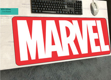 Marvel Comics logo mouse pads 90x40cm pad to mouse notbook computer mousepad gaming padmouse gamer to keyboard mouse mat