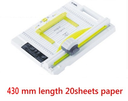 A3 size Manual rotary paper cutter trimmer 430mm 20sheets Paper cutting and perforating double function NEW design new discount portable 48 inches 1200mm manual rotary professional paper pvc cutter trimmer sg 1200 roller paper cutter 8sheets