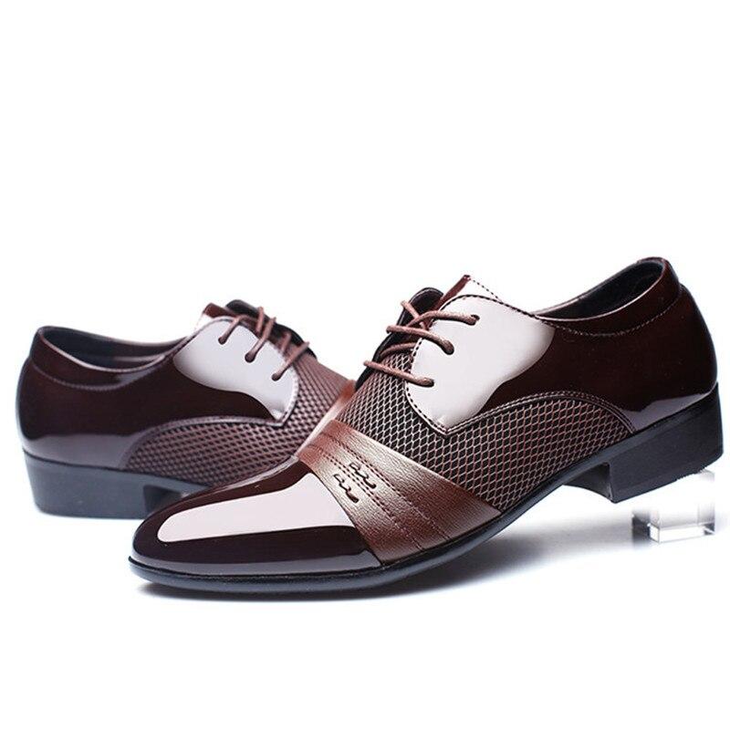 Zxq Men Dress Shoes Plus Size 38 47