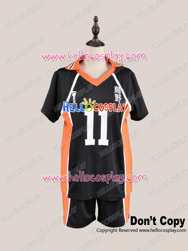 Haikyu Cosplay Costume Juvenile No.11 Ver Uniform Costume H008 65%cotton+35%polyster