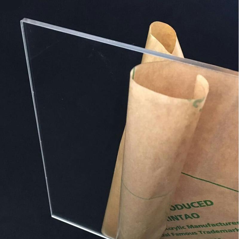4pcs/set 4mm 3.8mm thickness 10x20cm 20x30cm can select acrylic sheet / DIY model material / plastic sheet / plexiglass plate