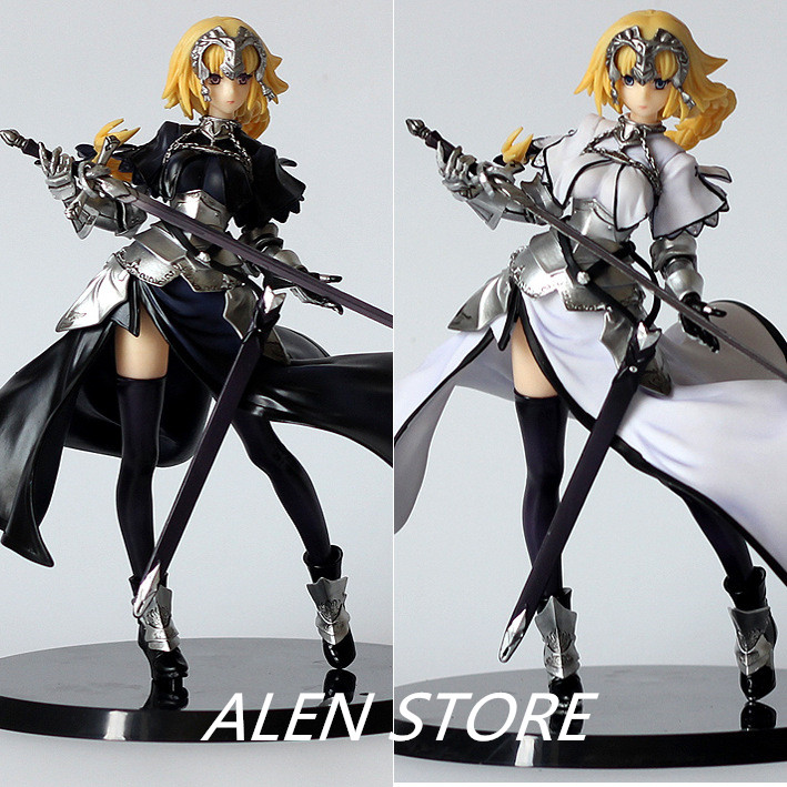 ALEN Anime Figure 20 CMFate Stay Night Fate Zero Apocrypha Joan of Arc PVC Action Figure Toy Model Collectibles huong anime figure 20 cmfate stay night fate zero apocrypha joan of arc pvc action figure toy model collectibles